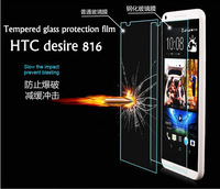 for HTC desire 816 mobile phone film protector .d816w screen film. for htc 816 tempered glass film.