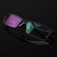 Fashion quality  ultra-light aluminum magnesium alloy myopia Men glasses box 130 eyeglasses frame