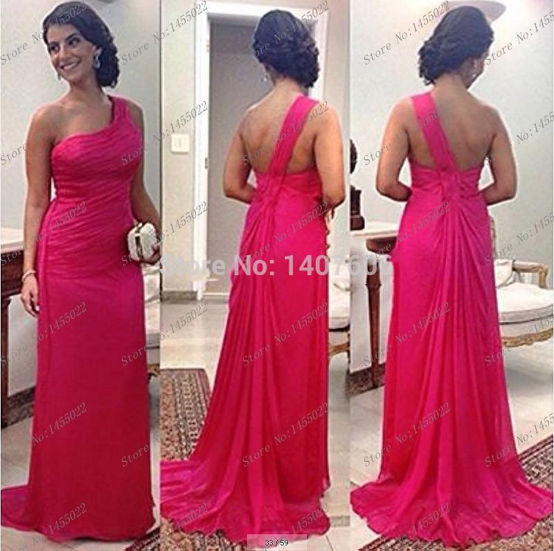New-years-2015-a-line-one-shoulder-long-elegant-prom-font-b-dresses-b