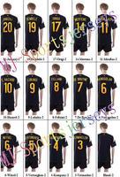 Free shipping-2014/15 Belgium #10 Hazard Away jersey&short,Soccer nation uniforms