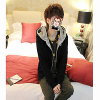 New 2014 Autumn Winter Mens Fashion Warm Outwear Hoodies Slim Zipper Jacket Casual Coat Black Gray Dark Gray Hot Sale