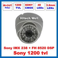 HD Sony 1200TVL Video Surveillance with IR-CUT Filter Indoor Security 48 Leds Night Vision IR 30 Meters CCTV Camera