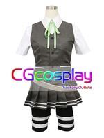 Free Shipping Cosplay Costume Kantai Collection Yukikaze New in Stock Retail / Wholesale Halloween Christmas Uniform