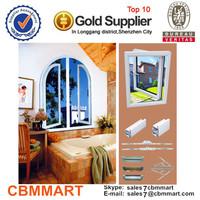 aluminum windows/ window grill design/ window blind