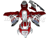 Red White Aftermarket Bodywork CBR1000 08-11 08 09 10 11 Fairing Kits CBR 1000 2008-2011 Prats Fairings
