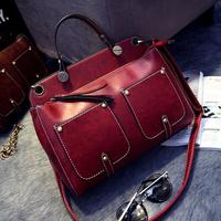 2014 women's fashion handbag autumn and winter handbag vintage all-match women's messenger bag shoulder bag