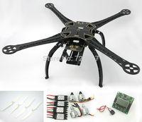 FPV S500 SK500 Carbon Fiber Upgrade F550 Quadcopter W/ kk2.15 Flight Controller 2212 920KV Motor 30A Simonk ESC