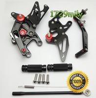 Adjustable Rearsets for Honda CBR1000RR 2008-2013 Brand New Motorcycle parts Rear Set FARHD004