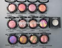 (2pcs/lot ) New makeup brand 12 colors makeup mineralize blush 3.5g Free shipping