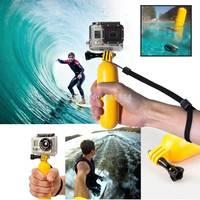 10pcs/lot Floating Handheld Monopod Hand Grip Mount Accessory For GoPro Hero 1 2 3 SJCAM wifi SJ4000 SJ5000 SJ5000 plus wifi