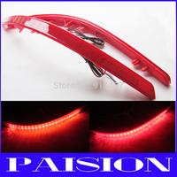 LY023-1 LED Bumper Reflector Red Lens Tail Brake Light for 2011-2013 Kia K5