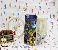 2 pcs Teenage Mutant Ninja Turtles Heroic warrior Design for iPhone 5 5s 5G Case Cover Hard Transparent Clear Skin