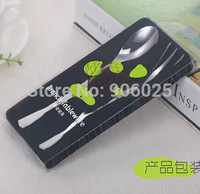 Branch Shaped Stainless Steel Spoon and Fork Set Dinnerware Sets Silverware Portable Cutlery Set