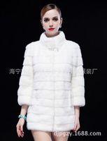 New 100% Real Fur Coats For Women Winter Models Imported Luxury Natural Mink Fur Coat Mink Fur coats Size M-XXXL