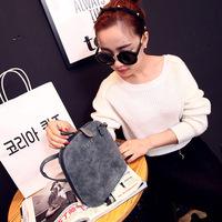2014 winter nubuck leather shell small bags fashion women's handbag  messenger bag