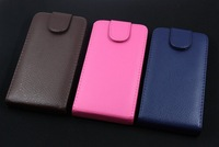 HY-Luxury business senior PU leather embossed mobile phone sets up and down to open case for samsung i9300 Galaxy SIII