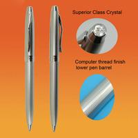 Free shipping Hot sale 6pcs a lot  New style Fashion Pen Crystal Ballpoint Pen