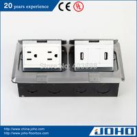 DCT-638/LB IP44 Waterproof Aluminum Fast Pop Up Type Legrand Floor Box