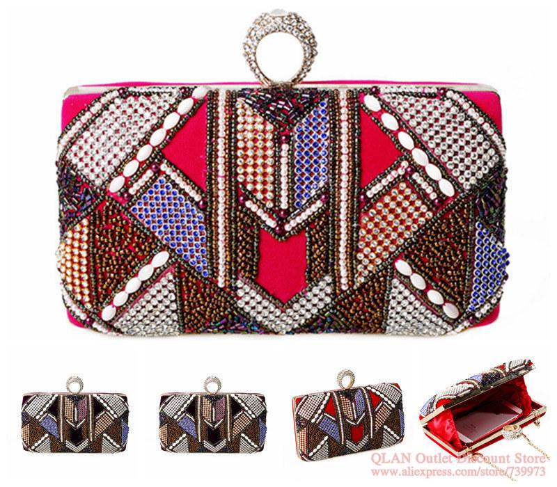 2014 clutches evening handbags fringe bags party ladies clutch retro evening bags cymkn handbag bolso bolsas femininas HFY012(China (Mainland))