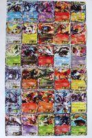 Free shipping 30 pcs/set pokemon cards lot Trading pokemon Card English EX Edition pokemon Play Cards kids Toys for children