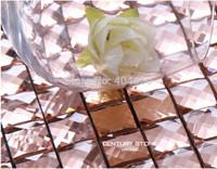 Thirteen Facet Belved Mirrored Glass Mosaic Tiles  kitchen backsplash bathroom glass moasic tile