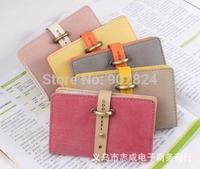Women wallet  lady retro long purse Hit color clutch wallet high quality bag  new fashion BA465