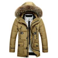 2014 casual down men winter jackets down-jacket white duck down coat winter jacket men parka men  face jacket vestidos gif