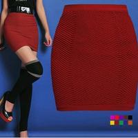 NEW 2014 Autumn High-waist Pencil skirt Mini High Quality Casual High Waisted skirt Thread slim pleated tennis skirt plus size