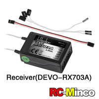 100% Original Walkera QR X350 PRO DEVO RX703A Receiver for Walkera QR X350 PRO-Z-07 FPV Quadcopter Drone Part