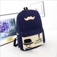 2014 men women novelty oxford bag fashion schoolbags student canvas backpack school bags mochila feminina Free Shipping WXT326