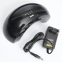 New Arrival Black Professional100-240V 12W LED UV Gel Lamp Light Nail Dryer Nail Art EU Plug Free Shipping