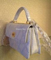 Y1505 2015 Luxury Snake Leather look handbag woven bag snake leather handbag