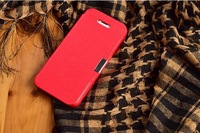 HOT SALE# 2015 Magnetic Flip Leather Hard Skin Pouch Wallet   Cover for iphone5/5s