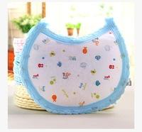 Cartoon cotton dribble Baby boy girl bibs Infant saliva towels Burp Cloths Waterproof bib Toddler Lunch Bibs