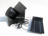Solar powered Air Purifier ionic ozone carbon fresh clean air cleaner refresher white colour