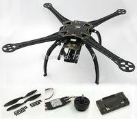 FPV S500 SK500 Carbon Fiber Upgrade F550 Quadcopter W/ APM2.6 Flight Controller F4006 4006 750KV Motor 30A Simonk ESC