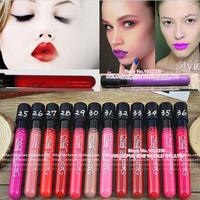 6pcs/lot Brand Waterproof lipstick makeup batom matte lipstick batom matte makeup batons lips for sexy beautiful girl