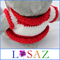 SMALL SIZE 18CM One Piece Soft Baby Toy Kids Brinquedos Sweater Bear Plush Toys For Children Novelty Juguetes