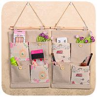 Wholesale!Creative storage bags for house,hanging storage bags for sundries,storage door hanger,korea fashion organizers