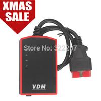 Original UCANDAS VDM Wifi Full System Automotive Diagnosit Update Online Latest V3.8 Wireless Diagnostic Scanner,Support Win7/8