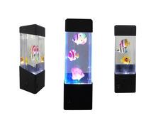 Mini fish tank Lamp Novelty LED Desk Accessory Light Nature home decoration New Year Gift(China (Mainland))