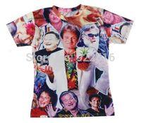 2015 new men/women 3D T-shirts print Robin 3D Tops T-shirt S M L XL XXL