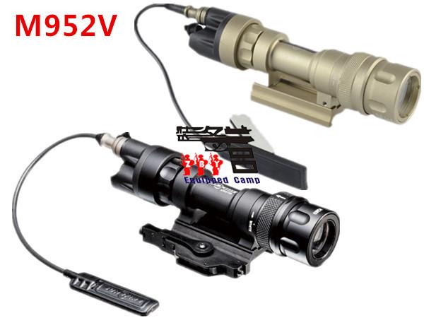 Tactical SureFire M952V LED Flashlight Weapon Lights Free Shipping(China (Mainland))