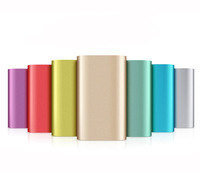 6pcs/lot power bank 5200mAh external battery charger 5200mAh portable powerbank Charger for xiaomi iphone HTC