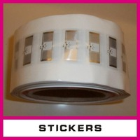 2D/3D/4D laser hologram label&sticker,with watermark and color fibre