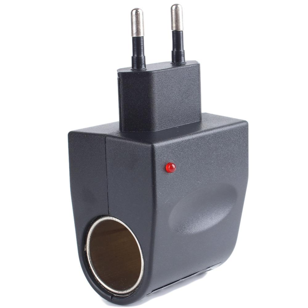 Car Cigarette Lighter Adapter Converter 220V Wall Power to 12V DC Car Cigarette Lighter Adapter Converter(China (Mainland))