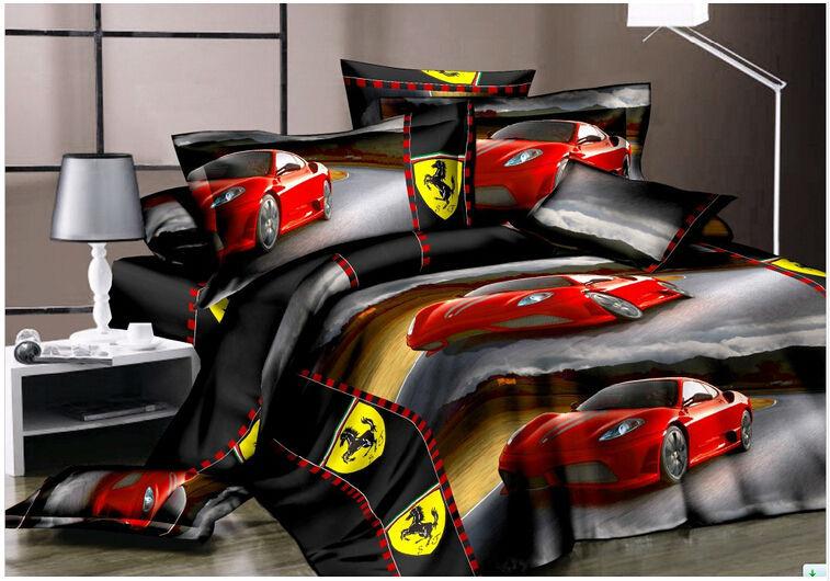 Boutique de draps de lit promotion achetez des boutique de - Housse de couette voiture de sport ...