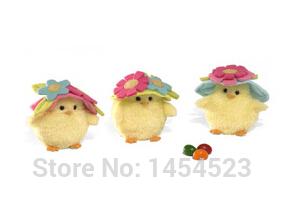 Пасхальный цыпленок плюшевые игрушки для маленького