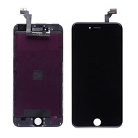 Touch screen digitizer LCD Display assembly With Frame Replacement Parts for iphone 6 4.7' Black