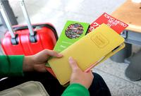 Passport Case Travel Passport Holder Card Purse Wallet Travel Ticket Map Organizer